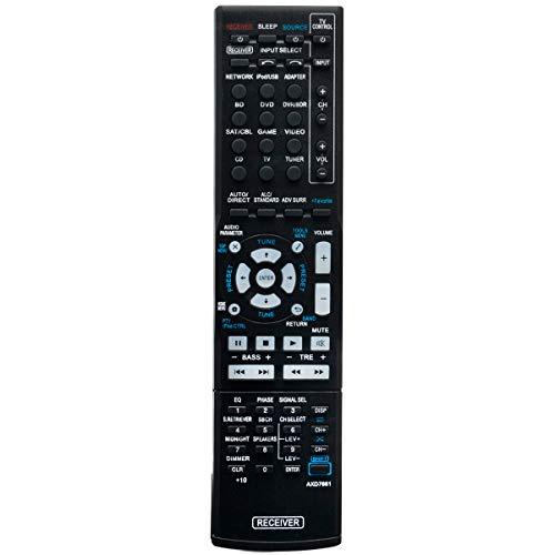 AXD7661 Replace Remote Control Applicable for Pioneer AV Receiver VSX-822-K VSX-1022-K VSX822K VSX1022K Audio Vedio Receiver axd7661