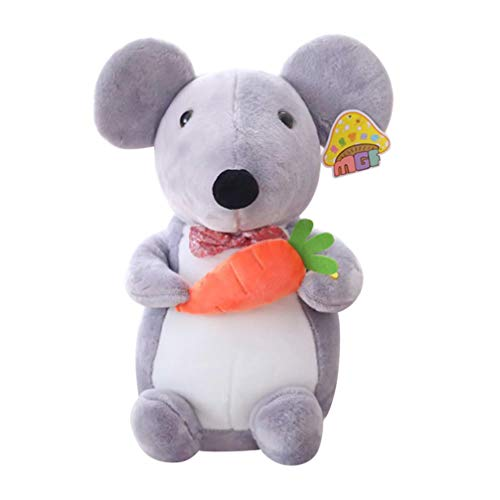 STOBOK 45 Cm Peluche Ratón de Rata Animales de Peluche 2020 Año Nuevo Chino Zodiaco Rata Mascota Juguete Regalos para Año Nuevo Día de San Valentín Estilo 4