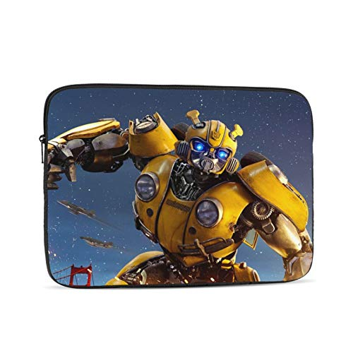 Bumblebee Laptop Sleeve Case Classic Notebook Computer Bag Slim Tablet Briefcase Business Travel Outdoor Black 12 inch
