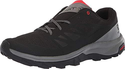 SALOMON Shoes Outline BK/Quiet Shad/High Risk, Basket Homme, Noir, 46 EU