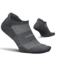 Cushioned High Performance Socks: These durable, cushioned mens socks and womens socks are perfect for every athlete, use them as running socks, hiking socks, and cycling socks Mens and Womens Socks with Support: Athletic socks made with superior con...