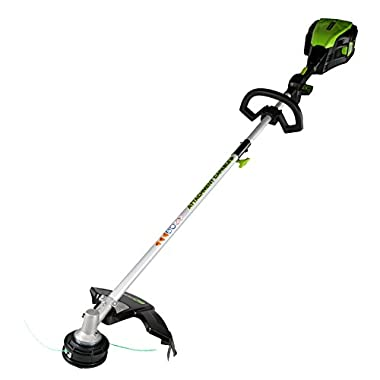 Greenworks 16-Inch PRO 80V Cordless String Trimmer (Attachment Capable), Battery Not Included GST80320