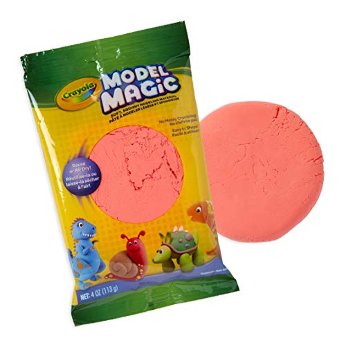 Crayola Model Magic, Neon Red, Modeling Clay Alternative, Crafts, 4 Ounce