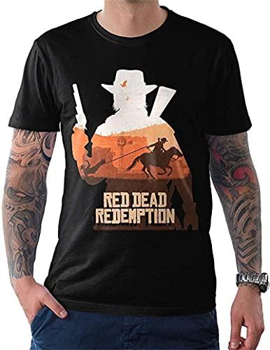 Red Dead Redemption Art T-Shirt, RDR2 tee, Men's 's Cartoon t Shirt Men Tshirt Shipping_10
