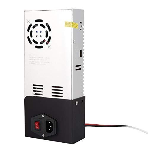 Modulo di alimentazione, alimentatore regolato da stampante 3D per Ender-3 3PRO DC24V/15A Uscita AC110V/240V Ingresso, modulazione della larghezza di impulso, modalità di collegamento a ponte intero