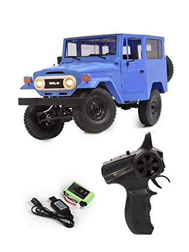 WPLJAPAN「C34」WPL 正規品 技適付き RCカー (ブルー)
