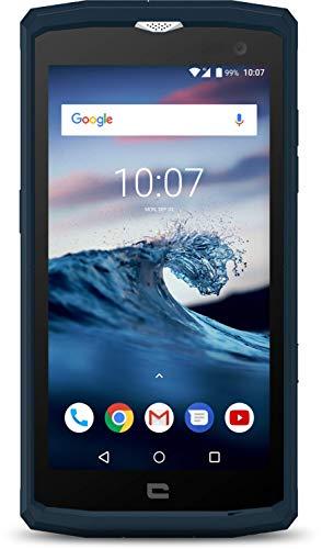 Crosscall Core-X3 Smartphone (5 Zoll - 16 GB internal Speicher - Dual Nano-SIM - Android) Blau