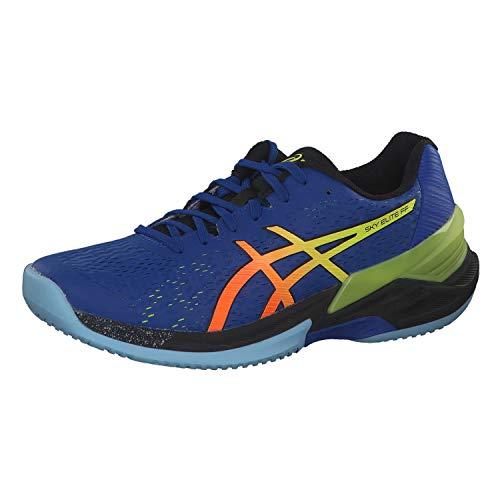 ASICS Herren 1051A031-400_42.5 Volleyball Shoes, Bleu Jaune, EU