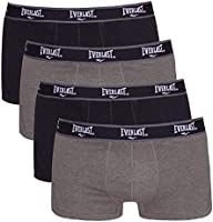 Save on Everlast Men's Trunks - 4 Pack, Black/Grey Combo, L (EV7514) and more