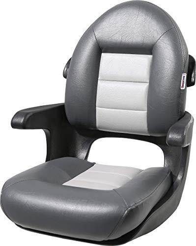 Tempress 57017 Elite Helm High-Back Boat Seat - Charcoal/Gray
