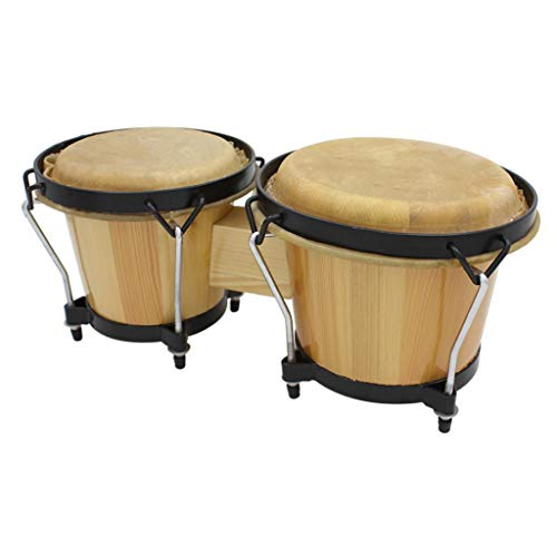 Baosity Set of 2 Drum Leather Cover for African Drum Bongo Drum Buffalo Drum