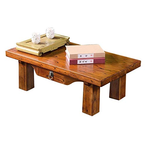 N/Z Daily Equipment Coffee Tables Household Table Modern Minimalist Wooden Tea Table Floor Window Balcony Casual Small