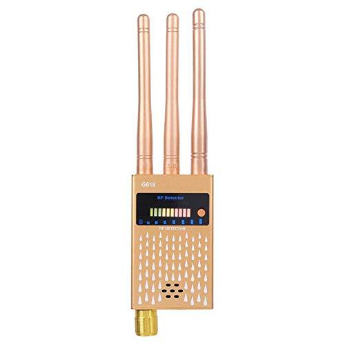 DAUERHAFT Handy-Detektor Metall Hochwertiger Ortungsdetektor Lange Lebensdauer Hochempfindliche GPS-Handy-Detektionsgeräte