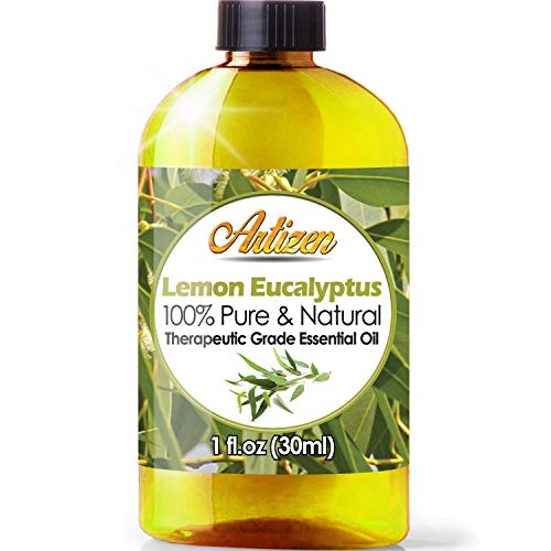 Artizen Lemon Eucalyptus Essential Oil (100% PURE & NATURAL - UNDILUTED) Therapeutic Grade - Huge 1oz Bottle - Perfect for Aromatherapy, Relaxation, Skin Therapy & More!