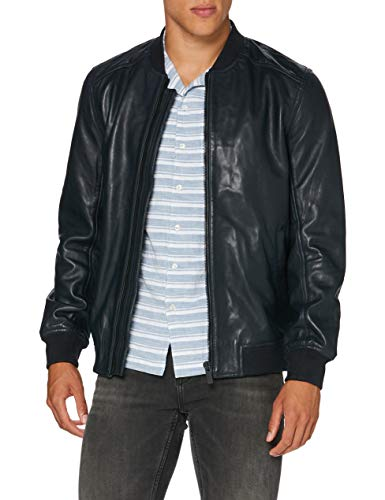 Superdry Leather Light Bomber Chaqueta Hombre