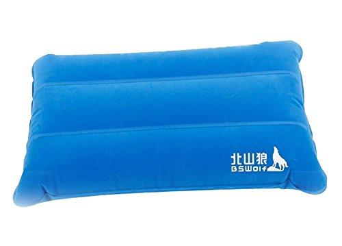 2 von Outdoor Inflatable Air Reisekissen Comfort Air Pillow Blue Bed