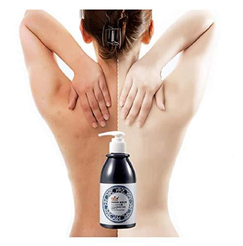 Momola Whitening Shower Gel, Skin Whitening Volcanic Mud Shower Gel - Deep Cleaning Whitening Moisturizing, Shower Cream Smoothen & Hydrate Your Skin 250ML