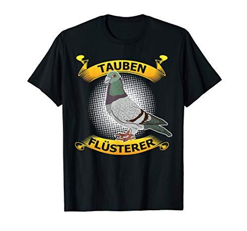 Herren Tauben Flüsterer Brieftaube   Taubenzüchter T-Shirt