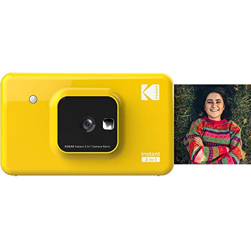 KODAK インスタントカメラプリンター C210 イエロー 1000万画素 Bluetooth接続 C210YE 国内正規品