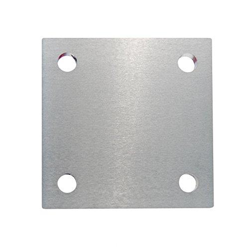 Edelstahl Ankerplatte V2A Ronde Flansch Bodenplatte Platte #24