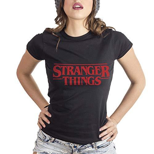 MUSH Eighteen Clothing Funny T-Shirt M Donna Stranger Things