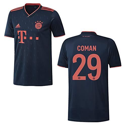 adidas Bayern Trikot 3rd Herren 2020 - COMAN 29, Größe:S