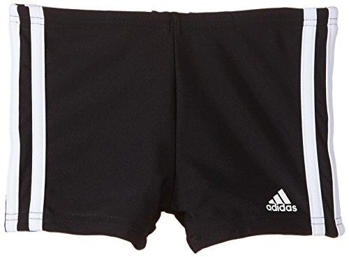 adidas Jungen Boxershorts Infinitex 3-Streifen, schwarz/weiß, 140, S22943