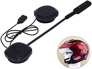 3T6B Motorhelm Headset Bluetooth 5.0 , Headset Stereo Helm Hoofdtelefoon ,Koptelefoon Draadloze Helm Hoofdtelefoon Handsfr...