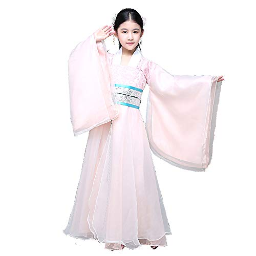 Best Review Of FXNN Hanfu-Chinese Ancient Costumes Fresh and Elegant Chinese Clothing (Color : Pink,...