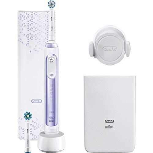 Oral-B, Power Genius 10200W Elektrische Zahnbürste Lila 1160 g, Pur, 1 stück