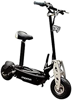 bc7878c2c Moma Bikes Patinete Eléctrico Plegable Urbano 1000W ruedas 10