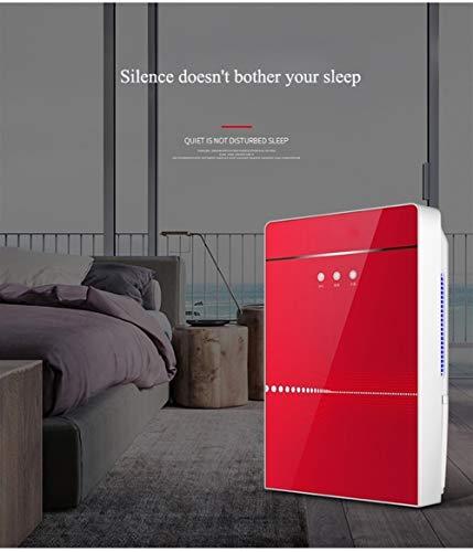 Bai Su Elektro Luftentfeuchter Haushalt Mute Lufttrockner feuchtigkeitsabsorbierenden Intelligent Auto-Off-Luftreiniger externen Abfluss Connect (Color : A)