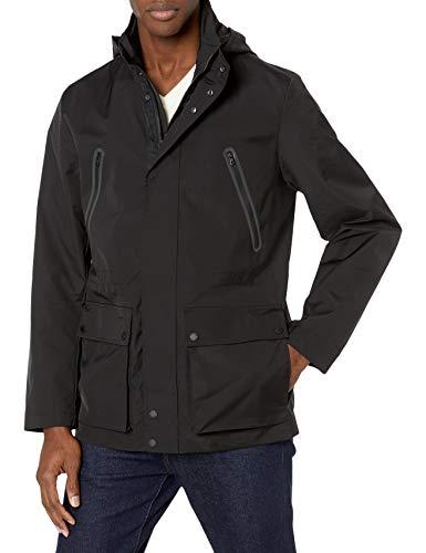 Calvin Klein Men's Move 365 Field Lightweight Jacket, Black, 2X-Large