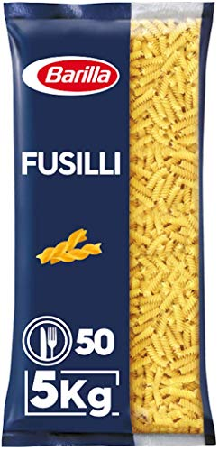 Barilla Hartweizen Pasta Fusilli n. 98 – 1er Pack (1x5kg)