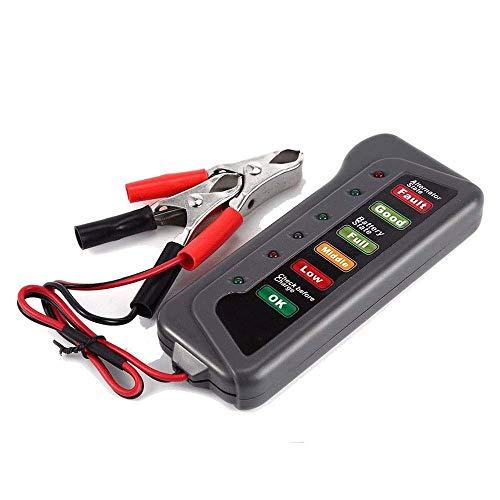 TERMALY meetinstrumenten voor autoaccu's, autoaccutester oplader, autoaccutester, 24 V LED batterij auto motorfiets jacht accutester batterijtester batterijtester A