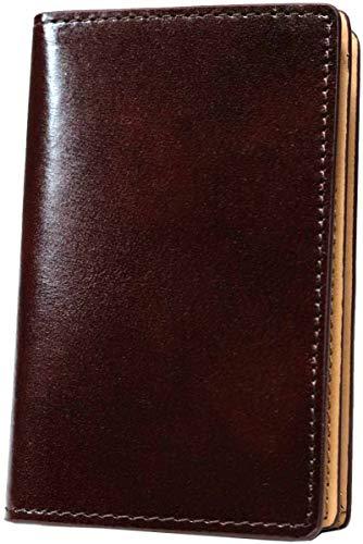 ブラウン名刺入れ メンズ ブランド 人気 本革 薄型 名刺ケース カードケース 薄型 薄い 牛革 名刺ケース カードホルダー 1030910-F-011a