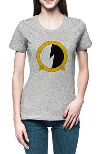 Protoshirtexe Damen T-Shirt Tee Grau Women's Grey T-Shirt