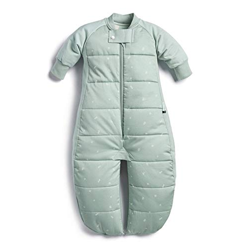 ErgoPouch Sleep Suit Bag 2.5 Tog - Sage - 2-4 Years