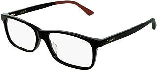 52af8ec11cd Gucci GG0408OA 007 Eyeglasses Black Frame 56mm