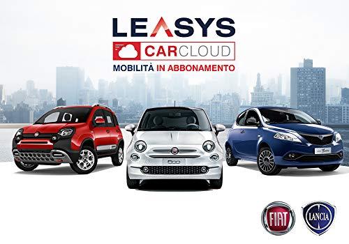 Iscrizione abbonamento Leasys CarCloud City Plus (Panda, 500, Ypsilon)