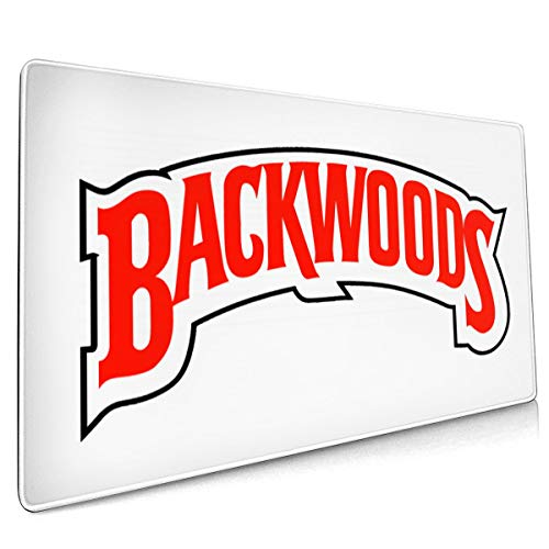 Backwoods Desk Accessories Non-Slip Rubber Mouse pad Laptop, Table pad, Game Mouse pad.Mouse pad 15.8x35.5 in