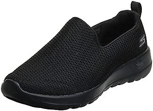 Skechers womens Go Joy Walking Shoe, Black, 8.5 Wide US