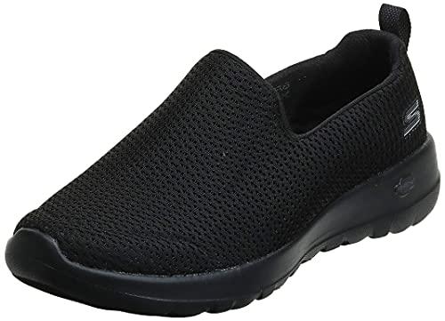 Skechers Go Walk Joy, Zapatillas sin Cordones Mujer, Negro (BBK Black Textile/Trim), 37.5 EU