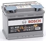 Bosch-S5A05 Batteria Silver Auto 60A/h-680A
