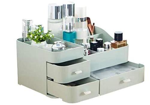 UWY Make-up Organizer mit Schubladen, kosmetische Aufbewahrungsbox für Tischhautpflegeprodukte...