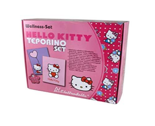 borsa acqua calda elettrica hello kitty Top Hello Kitty - Borsa dell'acqua calda elettrica ricaricabile con comoda coperta