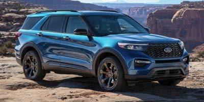 2020 Ford Explorer St 4 Wheel Drive Silver Spruce Metallic