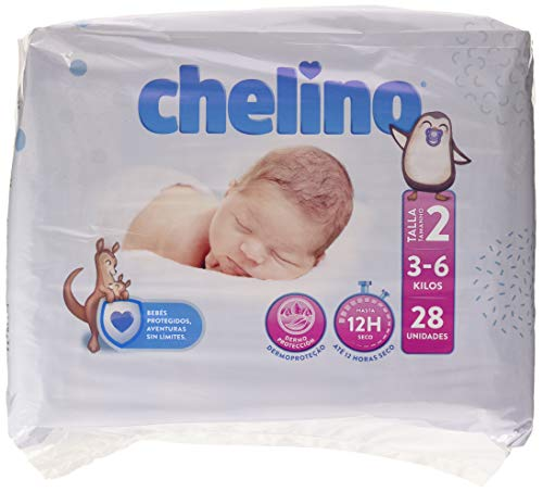 Chelino Fashion & Love, Talla 2, 28 pañales