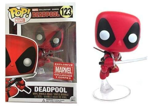 Funko POP! Marvel Deadpool: Deadpool Exclusivo