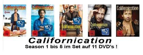 Californication - Season/Staffel 1-5 Set Deutsche Originalware [11 DVDs]